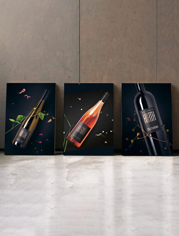 Weinposter Riesling Rosé Lemberger