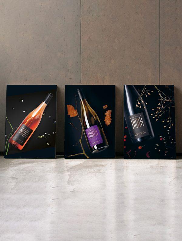 Weinposter Rosé Chardonnay Pinot Noir