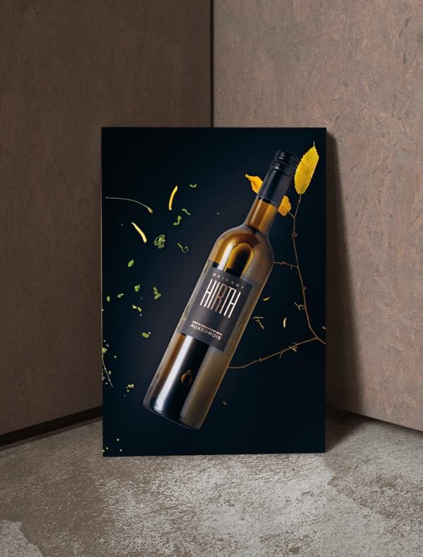 Weinposter Auxerrois