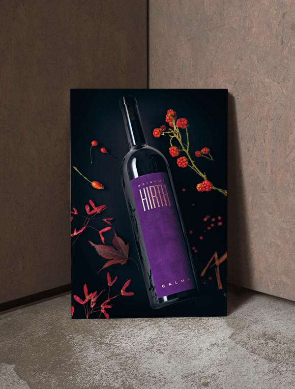 Weinposter Calma