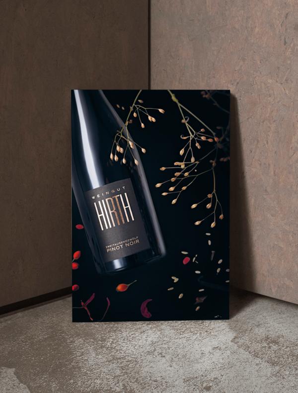 Weinposter Pinot Noir