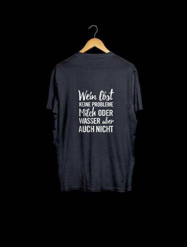 Shirt Wein löst keine Probleme